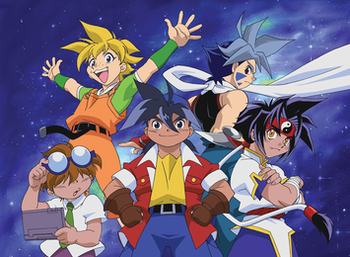 Beyblade Season 1 Episodes in Tamil + English 528p BDRip