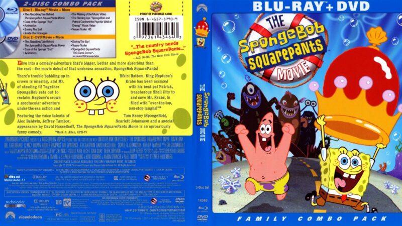 The SpongeBob SquarePants Movie (2004) in Tamil Telugu Hindi (DD+5.1 640Kbps) 1080p BluRay