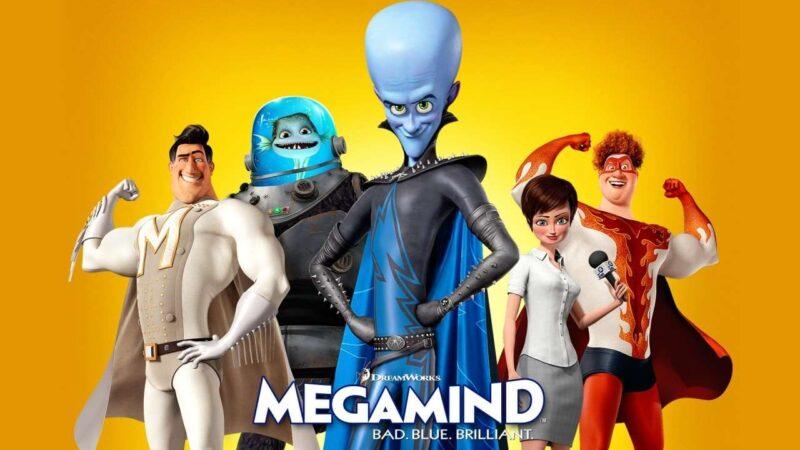 Megamind (2010) Full Movie in Tamil Telugu (DD+5.1 640Kbps)