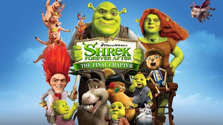 Shrek Forever After (2010) Full Movie in Tamil Telugu (DD+5.1 640Kbps)
