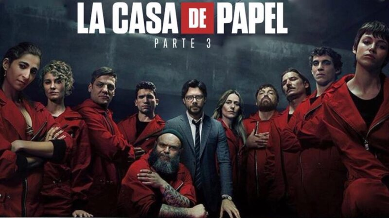 Money Heist Season 3 Episodes in Tamil Telugu Hindi Eng (DD+5.1 640Kbps) 1080p WEB-DL