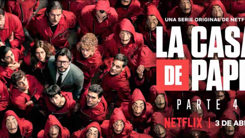 Money Heist Season 4 Episodes in Tamil Telugu Hindi Eng (DD+5.1 640Kbps) 1080p WEB-DL