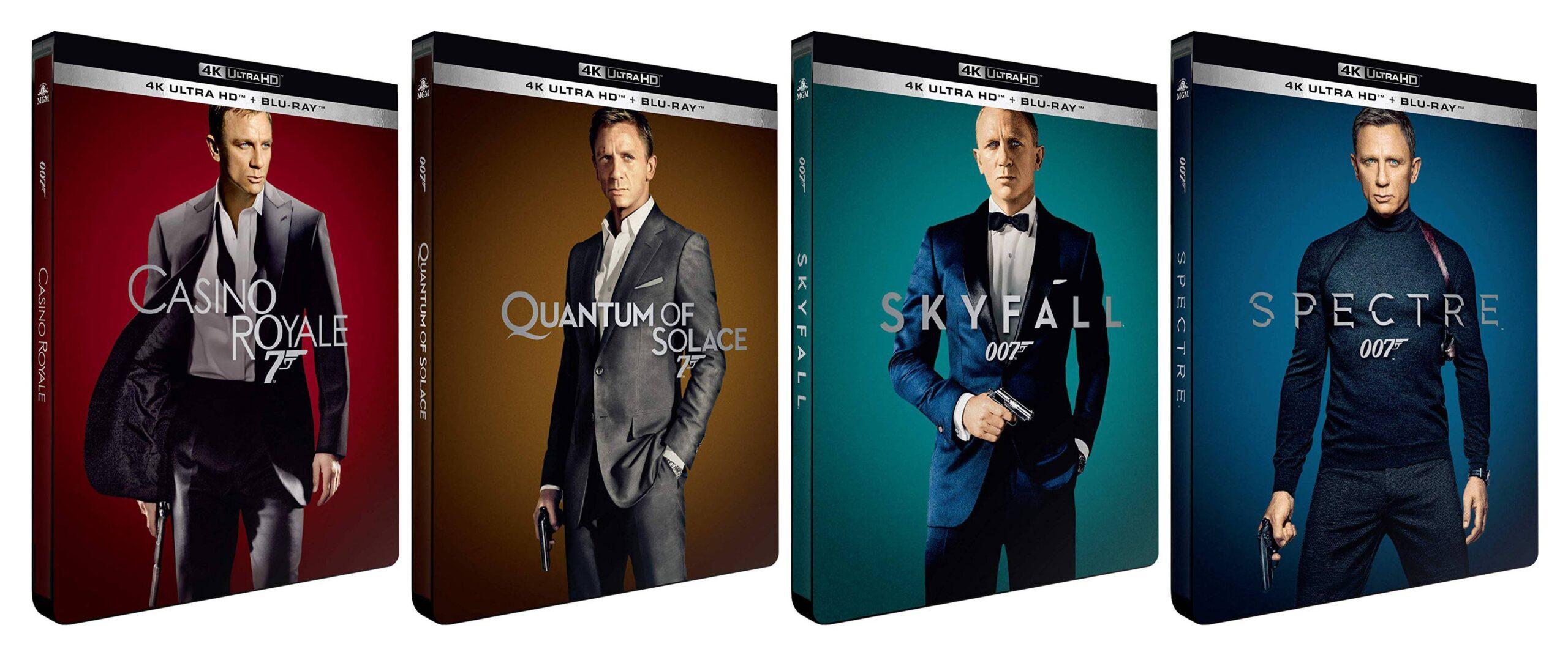 Daniel Craig's | James Bond : 007 – 4 Movies Collection (2006 – 2015) in 4K & 1080p BluRay [Tamil-Telugu-Hindi (BD 5.1 448Kbps)] [Eng (DTS-HD MA 5.1)] MSubs ~ Encoded By ~ JackSparrow038