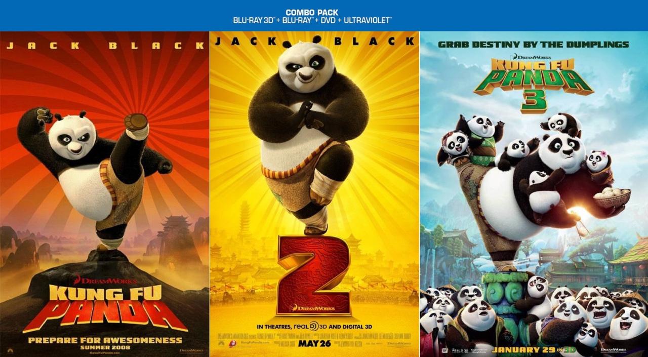 Kung Fu Panda Trilogy (2008 – 2016) in 1080p BluRay REMUX [Tamil-Telugu-Hindi (DD+ & BD 5.1 640Kbps)] [Eng (Dolby TrueHD 5.1)] MSubs By ~ JackSparrow038