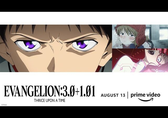 EVANGELION:3.0+1.01 THRICE UPON A TIME (2021) in Hindi Eng Jap With Tamil & Telugu Subtitles
