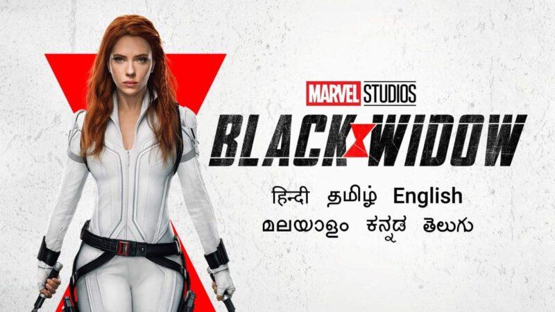 Black Widow (2021) Full Movie in Tamil Telugu Mal Kan Hin Eng 4K WEB-DL